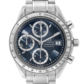 Omega Speedmaster Date Blue Grey Dial Mens Watch 3513.46.00