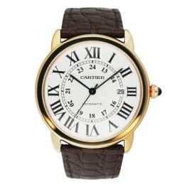 Cartier Ronde Solo W6701009(3516) 18K R