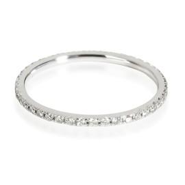 Tiffany & Co. Soleste Diamond Eternity Band in 18K White Gold 0.34 CTW