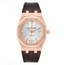 Audemars Piguet Royal Oak 37mm Midsize Rose Gold Mens Watch 15450OR