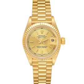 Rolex President Datejust 18K Yellow Gold Ladies