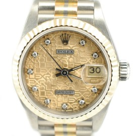 Rolex 69179B President Datejust 18K Yellow Gold & Stainless Steel Watch