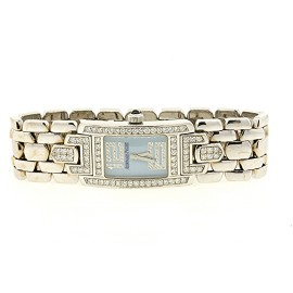 Audemars Piguet Promesse White Gold Diamond Womens Watch Dial Size 20mm