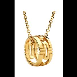 Bvlgari 18K Yellow Gold Parentesi Necklace