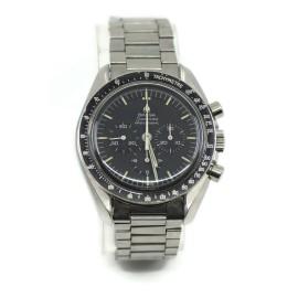 Omega Speedmaster Moon Watch Straight Line Stainless Steel Watch 145022-69ST