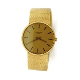 Patek Philippe Calatrava 18K Yellow Gold Watch