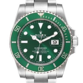 Rolex Submariner Hulk Green Dial Bezel Mens Watch 116610LV