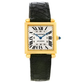 Cartier Tank Obus W1527551 26mm Mens Watch