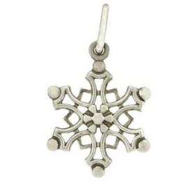 Tiffany & Co. Sterling SIlver Snow Flake Charm