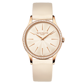 Patek Philippe 4897R 010 Rose Gold Ladies Calatrava Watch