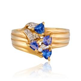 LLe Vian Certified Pre-Owned Tanzanite 14K Honey Gold Ring