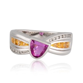 Le Vian Certified Pre-Owned Precious Stones 18K Vanilla Gold  Ring