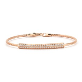 I.Reiss 14K Rose Gold 0.39 Diamond Bracelet
