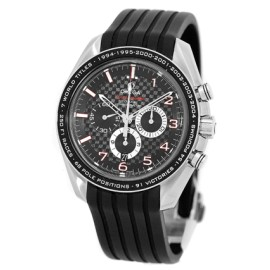 Omega Speedmaster 3213.24.45 Stainless Steel & Rubber Automatic 44mm Mens Watch