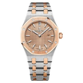 Audemars Piguet Royal Oak 67650SR.OO.1261SR.01 Stainless Steel & 18K Pink Gold 33mm Womens Watch