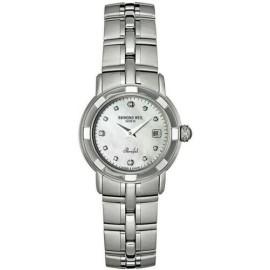 Ladies Raymond Weil Parsifal 9441-ST-97081 Steel Diamond MOP Quartz 28MM Watch