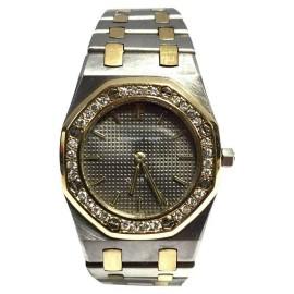 Audemars Piguet Royal Oak 18K Yellow Gold & Stainless Steel Diamond 26mm Watch