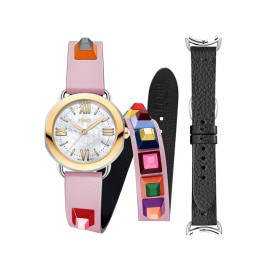 Fendi Timepieces Selleria Set F8091345U7A7 36 mm Womens Watch