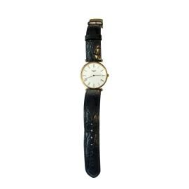 Longines La Grande Classique Gold-Plated Metal & Alligator 33mm Watch