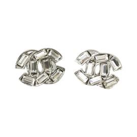 Chanel Silver Tone Hardware Alloy Earrings