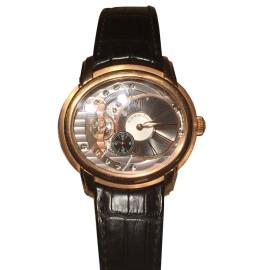 Audemars Piquet Millenary 18K Rose Gold Automatic Watch