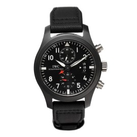 IWC Pilot IW388001 Top Gun Edition Black Dial Automatic Men's Watch