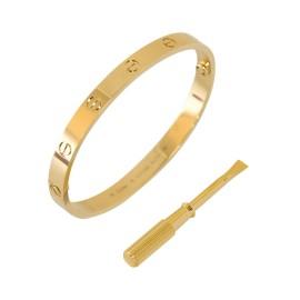 Cartier Love Bracelet Yellow Gold Size 18 B6035517