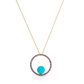 Le Vian Certified Pre-Owned Ring Robin's Egg Turquoise Pendant