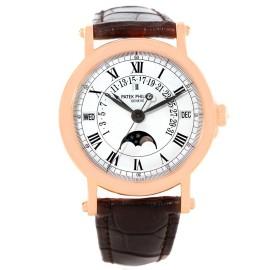 Patek Philippe Perpetual Calendar 5059R Retrograde 18K Rose Gold 36mm Mens Watch