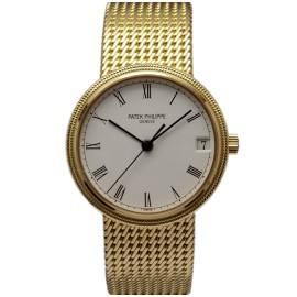 Patek Philippe 18k Yellow Gold Calatrava Watch
