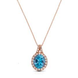 Le Vian Certified Pre-Owned Ocean Blue Topaz Pendant