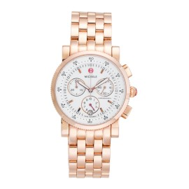 Michele MW01C00B3001 Rose Gold Sport Sail Chronograph 38mm Womens Watch