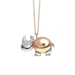 Rhinoceros Necklace