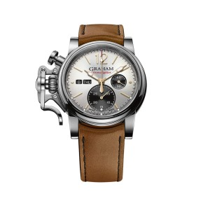 Graham Chronofighter Vintage 2CVAS.S03A.L128B 44mm Mens Watch