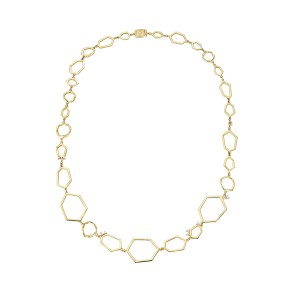 18K Gold Jackson Multi Link Necklace