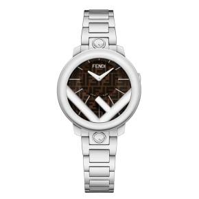 Fendi Timepieces Brown 28 mm F714022000