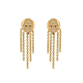 Misahara Drina Waterfall Earrings 18k Yellow Gold Earrings