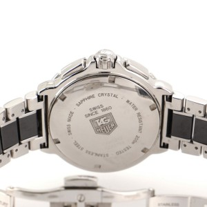 Tag Heuer Formula 1 Chronograph Quartz Watch Ceramic and Stainless Steel with Diamonds 41