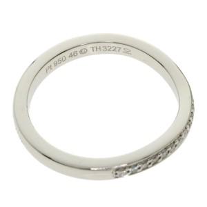 CARTIER diamond Platinum Ballerina Curve Ring