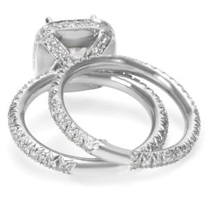 BRAND NEW Diamond Engagement Wedding Set in Platinum with Diamonds (1.17 CTW)