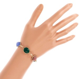 14K Yellow Gold Scarab Bracelet