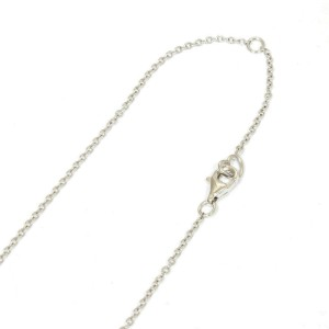 Ponte Vecchio 18K white gold Diamond apple Necklace CHAT-751