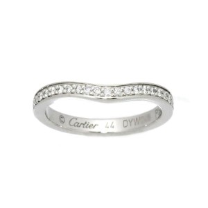 Cartier platinum BALLERINE Diamond Ring RCB-112