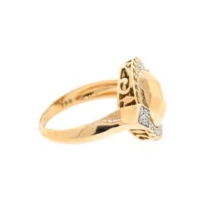 Alor 18K Rose Gold w. ROSE GOLD FACET CENTER RING