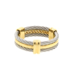 Alor 18K Yellow Gold & Stainless steel RING