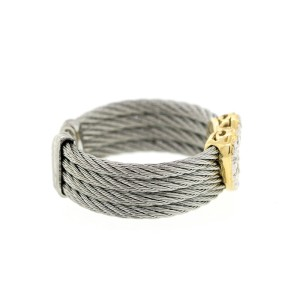 Alor 18K Yellow Gold/Stainless steel & Stainless steel RING