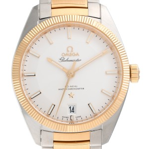Omega Constellation Globemaster 130.20.39.21.02.001 Stainless Steel / 18K Yellow Gold 39 mm Mens Watch