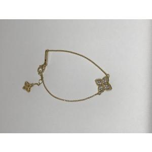 Roberto Coin 18K Yellow Gold with 0.17ct. Diamond Charm Bracelet