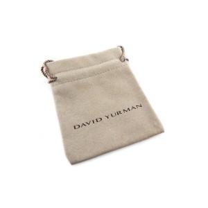 David Yurman Cable Wrap Pendant with Amethyst and Diamonds
