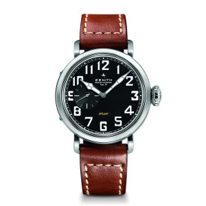 ZENITH Pilot Type 20 40 mm 03.1930.681/21.C723 Brown Calfskin 40mm Mens Watch